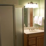 Neo Angle Shower  Vanity